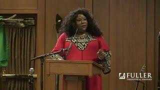 Stacey Floyd-Thomas preaches preaches on Matthew 15:22-28