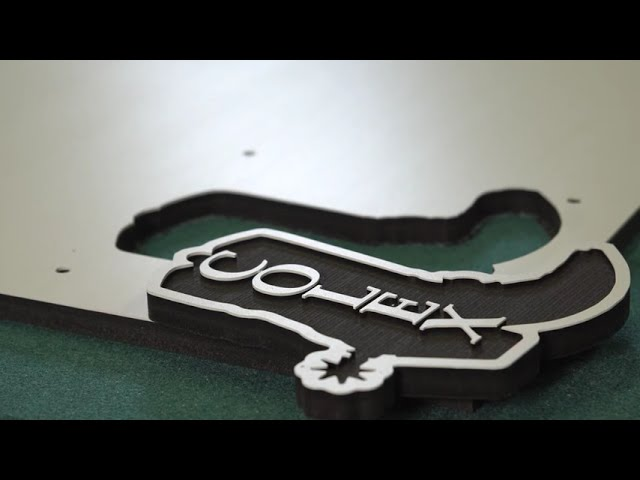 PVC - Engraved Cowboy Boot - Router