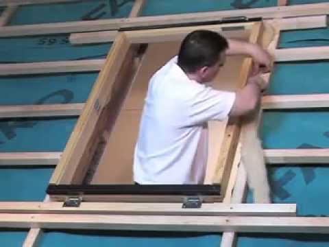Instructiuni montaj ferestre de mansarda pentru acces acoperis FWL, FWR