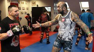 Seminarium szkoleniowe w Fight Academy z Marcinem Różalskim