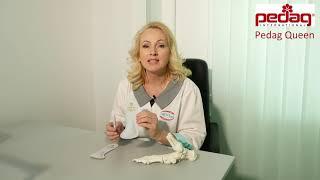Обзор ортопедических полустелек Queen, Pedag