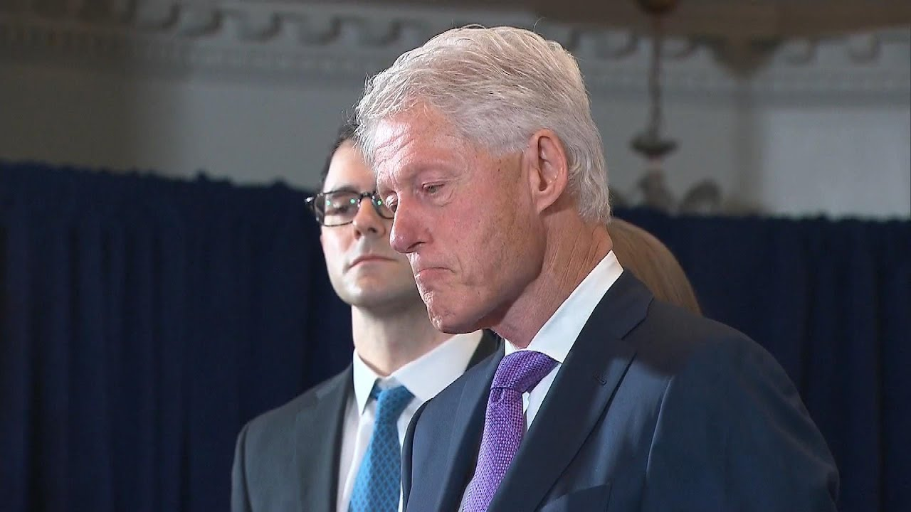 Download Former President Clinton Hospitalized for Sepsis From UTI