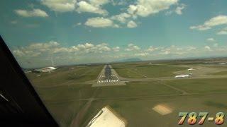 Pilotsview Ethiopian BOEING 787 into Nairobi