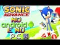 Sonic Advance no Android e no PC ! ( Curiosidades dos Jogos / Games )( Análise )