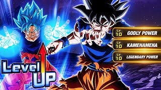 THE GREATEST! LEVEL 10 LINKS 100% RAINBOW STAR LR ULTRA INSTINCT GOKU! (DBZ: Dokkan Battle) YouTube Videos