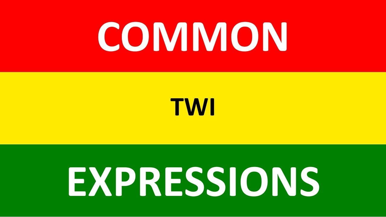 Yes, No, Sorry in Twi | Common Twi Expressions | Twi Language Conversation  | Video Lesson 2