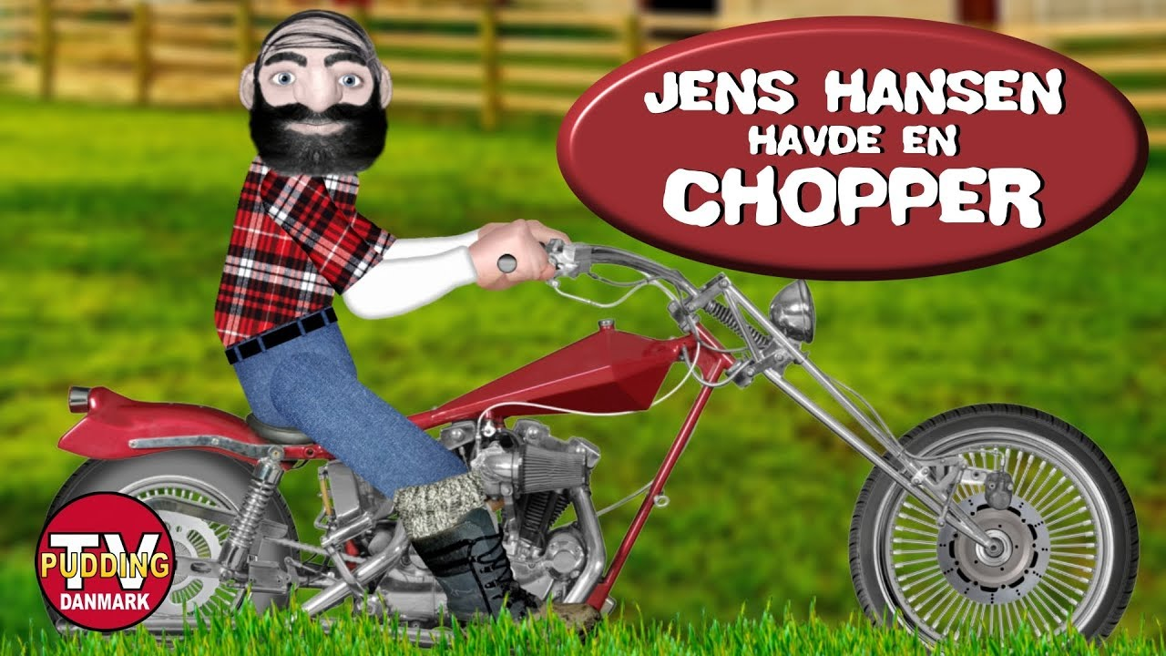Jens Hansen havde en chopper - Danske børnesange MIX