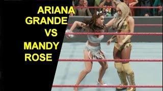 WWE 2K19 Ariana Grande vs Mandy Rose