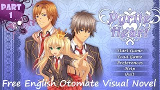 Pyrite Heart : Gameplay Part1 (EnglishOtomeVisualNovel)