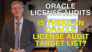 Is there an Oracle audit target list?