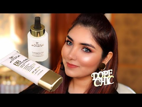 The Truth About BeautifybyAmna Glow Serum & BB Cream || Going For Shoot So All Day Wear Test