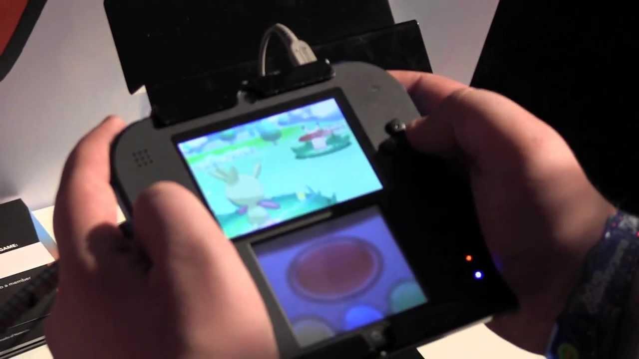 Nintendo 2ds Hands On Pokemon Y Gameplay Youtube
