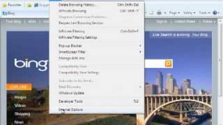 Windows 7 Configuration Training: Security in Internet Explorer 8
