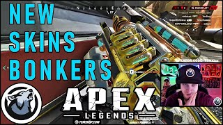 VISS WARMS UP WITH THE NEW SKINS! APEX LEGENDS SEASON 3