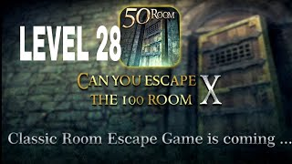 Can You Escape The 100 room X level 28 Walkthrough
