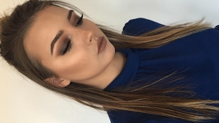 How I Contour My Round Face + KVD Shade Light Contour Palette Review