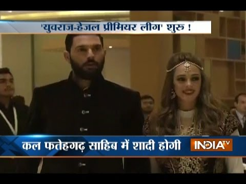 Sangeet Ceremony of Yuvraj Singh and Hazel Keech, Will Marry on 30th November