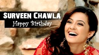 Latest Punjabi Songs - Happy Birthday - Surveen Chawla Songs || Diljit Dosanjh