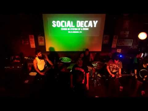 Social Decay - Mr. Jack (Live @ Calabouço Heavy & Rock Bar 11/03/2017)