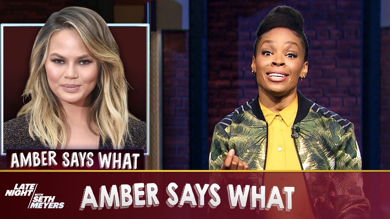AmberSaysWhat: Chrissy Teigen Quits Twitter, Dr. Oz Hosts Jeopardy
