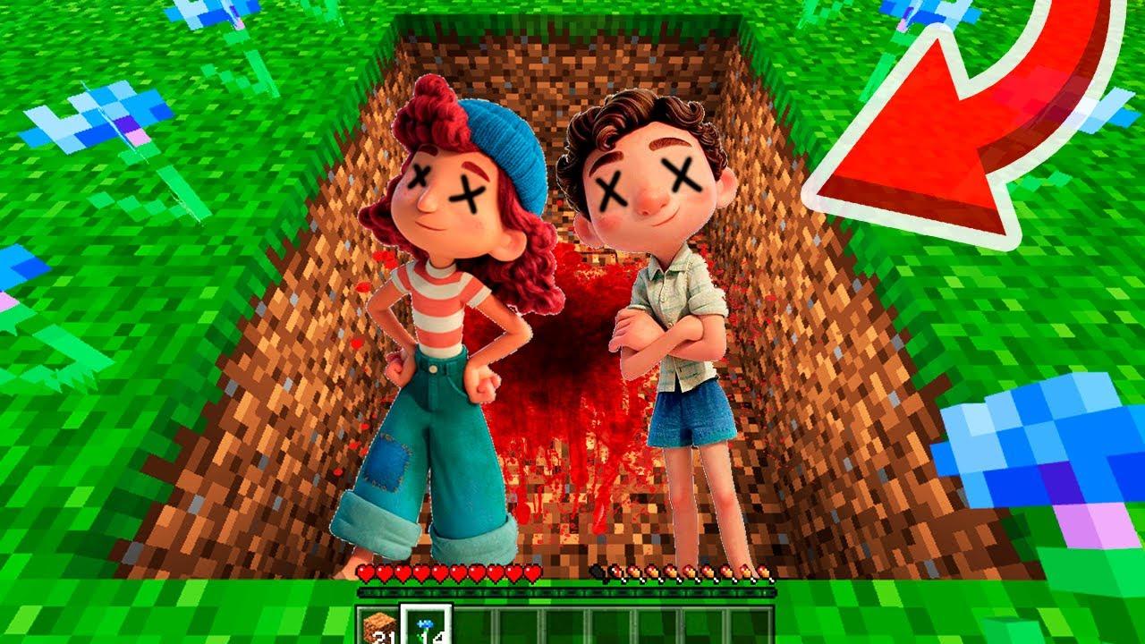🌊😨ENCONTRAMOS La Tumba De LUCA Y GIULIA En Minecraft Bedrock 1.17