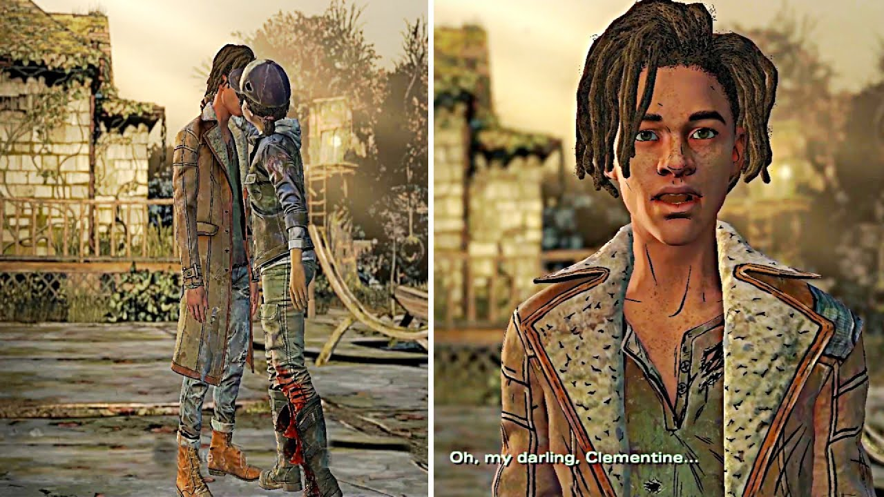 All Louis Character Animations Voice Lines And Outfits The Walking Dead Definitive Edition