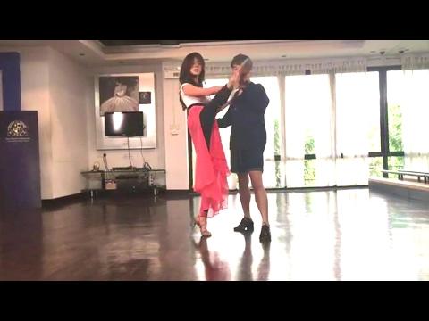 "[BTS] Baifern Pimchanok - Tango Dance Rehearsal for ""SLAM DANCE Series"" (Feb 3, 2017)"