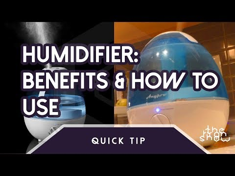 Humidifier: How It Works & Humidifier Benefits  | The Ryan Show