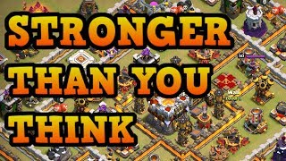 This TH11 Engineered Base just refuses to go down! Don't Underestimate It! - Clash of Clans