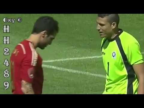 Cesc FABREGAS falla penalti  El Salvador Vs españa   El Salvador 0  españa 2  07 06 2014