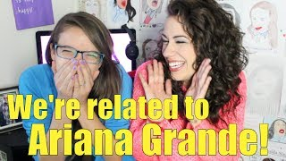 We're related to Ariana Grande! | Colleen's Corner