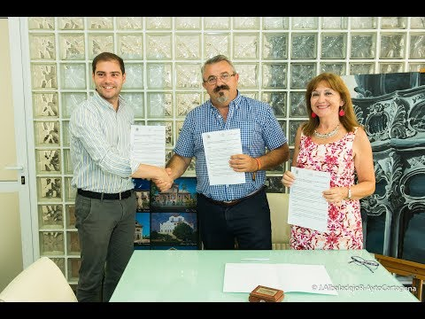 Cartagena de mi Alma y el Casino suscriben sendos convenios con el ayuntamiento
