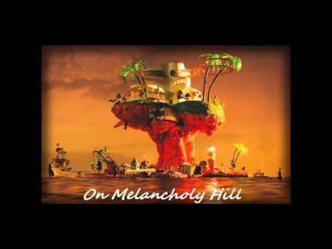 GoRiLLaZ - On melancholy hill (Lyrics)