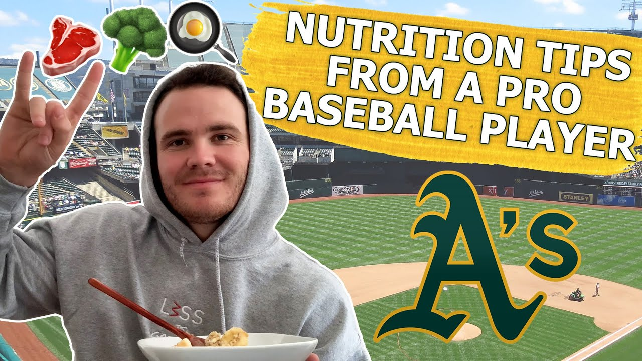 What a Pro Baseball Player Eats in a Day | AIDEN MCINTYRE
