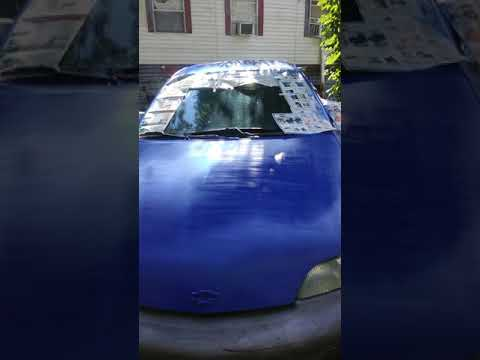 Satin Ink Blue Rust Oleum Paint Job