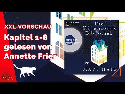 Die Mitternachtsbibliothek YouTube Hörbuch Trailer auf Deutsch