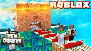2 PLAYER FORTNITE OBBY IN ROBLOX