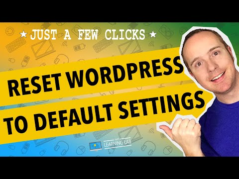 How To Reset A WordPress Site Instead Of Reinstalling - 동영상