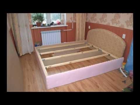 Как сделать двуспальную кровать подиум своими руками