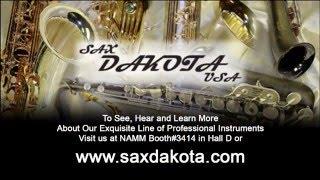 Sax Dakota USA Artist Saxappeal on the SDA 1000