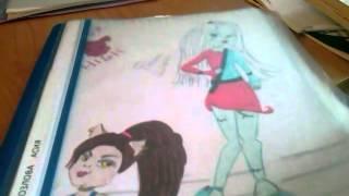 - Мои рисунки Монстер хай и другие