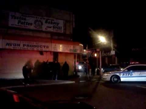 Canarsie Brooklyn, NY Tense Police Arrest 03/03/2012