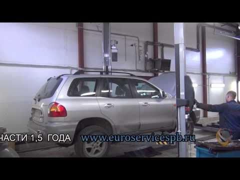 Установка пламегасителя вместо катализатора Hyundai Santa Fe