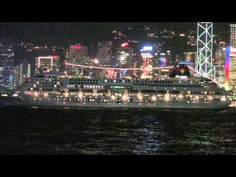 Hong Kong at Night from Kowloon Side