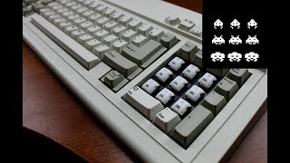 NMB 113308-001 keyboard review (linear Space Invader switches)