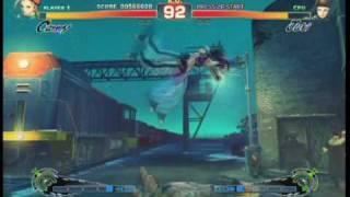 Super Street Fighter 4 - Gameplay Video 9