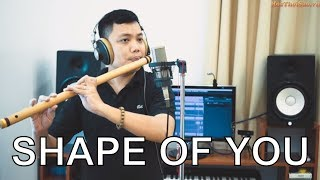 SHAPE OF YOU - Bansuri | Flute cover | Master of Flute