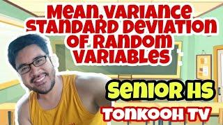 #Solving   Mean, Variance aฑd SD   in Random Variables