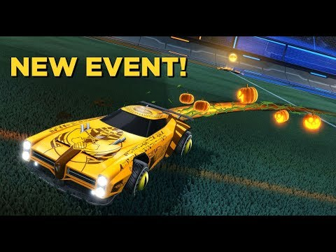 New Rocket League Event! Haunted Hallows! Quick Candy Corn Currency in 1v1!