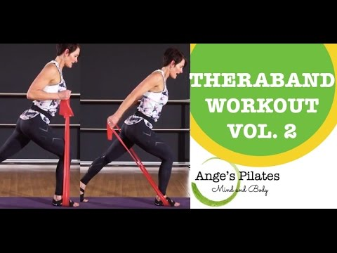 Pilates Theraband Workout (Vol. 2)